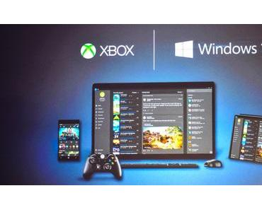 Gamescom: Windows 10 für die XBox im November