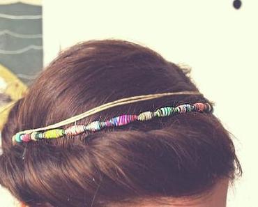 DIY Papierperlen-Haarband