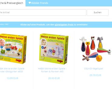 Preisvergleich für Baby- und Kinderartikel auf Kidslet.de