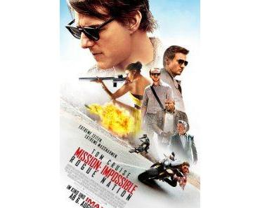 MISSION: IMPOSSIBLE – ROGUE NATION mit Tom Cruise