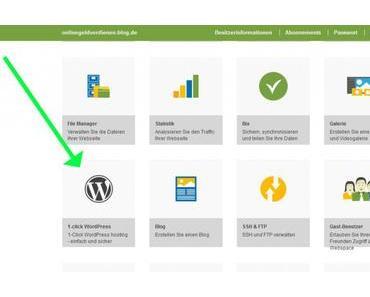 WordPress installieren in weniger als 5 Minuten