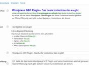 WordPress Plugin beste aller Plugins