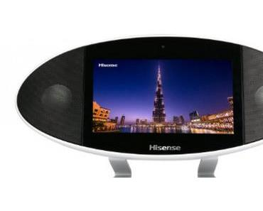 Tablet loves Sound. Das Hisense Portable Media Center