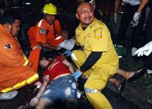 Tote Touristen bei Bombenexpolsion in Bangkok