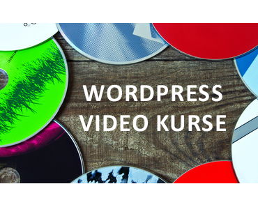 WordPress Videokurse