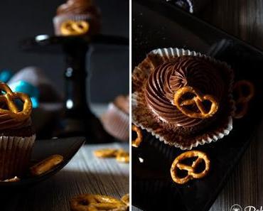 Mit nur drei Zutaten zum perfekten Frosting - Salzbrezel-Cupcakes