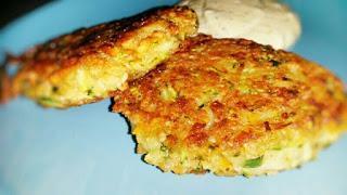 Zucchini-Möhren-Bratlinge