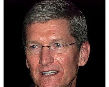 Tim Cook nach dem gestrigen Kurseinbruch der Apple-Aktie
