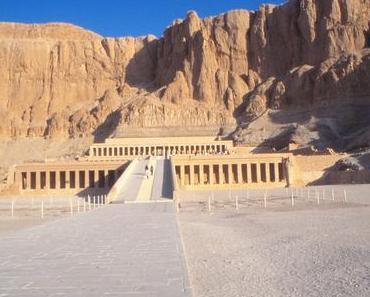 Foto: Tempel der Hatschepsut in Luxor