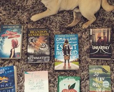 [Book Haul] Meine Neuzugänge im August