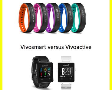 Fitnesstracker von GARMIN im Vergleich: Vivosmart und Vivoactive
