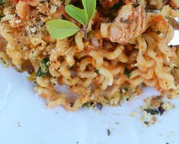 A Tavola! Es gibt die leckerste Thunfisch-Tomaten-Pasta!