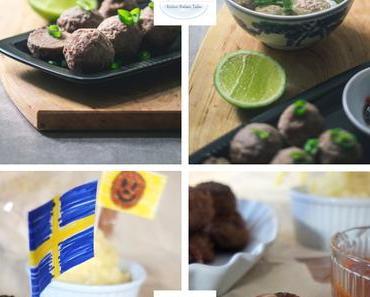 Köttbullar – Schwedische Fleischbällchen mit Sauce wie bei Ikea