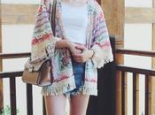 OOTD: Fringe Kimono