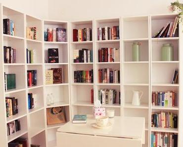 UMZUGS-UPDATE: Das Bücherregal ist da! + Tipps zum Sortieren