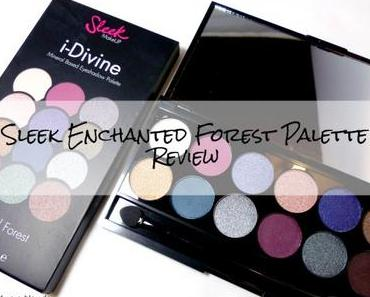 Sleek I-Divine Enchanted Forest Eyeshadow Palette – Review
