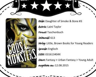 Laini Taylor – Dreams of Gods & Monsters