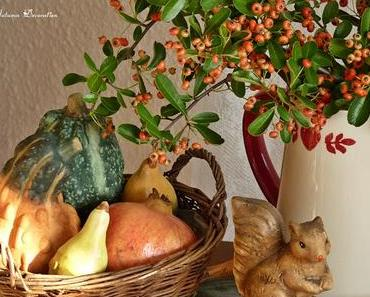Herbstbeginn mit einem leckeren Rezept / Comienzo de otoño con una rica receta