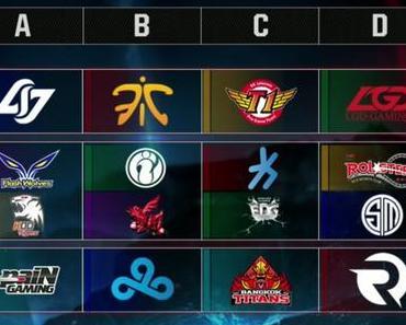 League of Legends WM startet mit spannender Gruppenphase