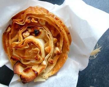 Kulinarikus begrüßt den Herbst mit Apfelstrudel-Mandel-Muffins