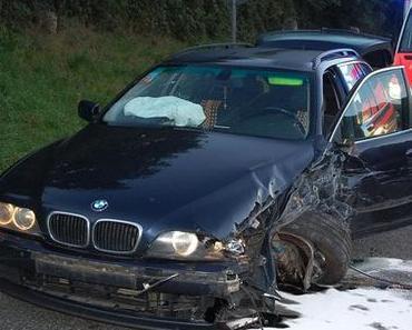 Schwerer Verkehrsunfall Wilgartswiesen auf der B 10