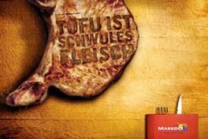 Wenn die Fleischindustrie anderen permanent ihre Meinung aufzwingen muss!
