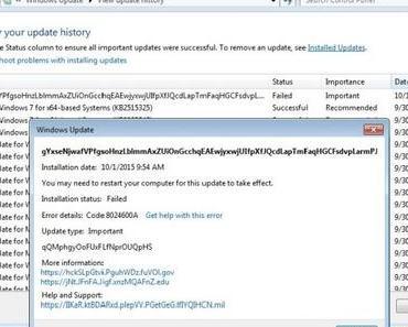 Verdächtiges Update soll ein Test von Microsoft sein