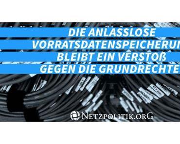 Exzessive Speicherung von Mobilfunkdaten in Deutschland