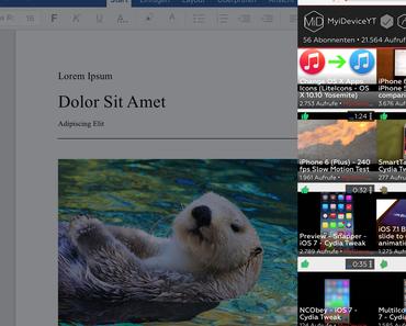ProTube Update bringt Bild-in-Bild, Slide Over und Split View Support für iPads, 3D Touch Quick Actions für iPhones und mehr!