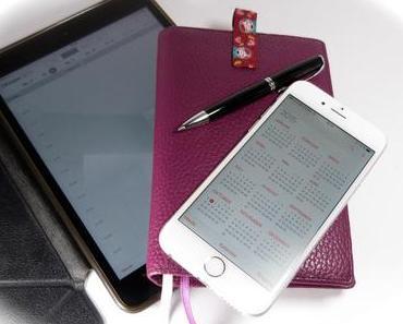 Zeitmanagement ?! Ich brauch Papier und Stift, da bin ich oldschool!
