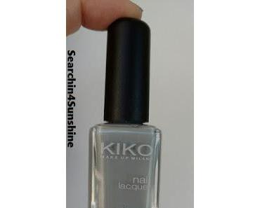 [Nails] Lacke in Farbe ... und bunt! GRAU mit KIKO 328 Gray