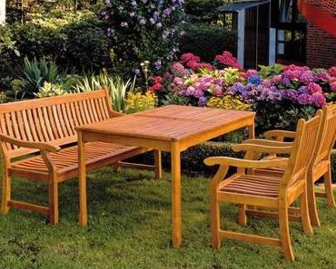 Gartenmöbel selber bauen aus altem Holz