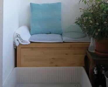 Ikea Hack   Bettkasten als Planschbecken & Sandkasten   DIY-Idee für den Balkon