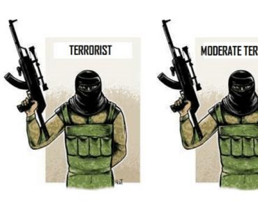 Terroristen vs moderate Terroristen