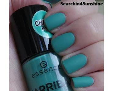 [Nails] Lacke in Farbe ... und bunt! TÜRKIS mit essence ARRIBA 02 macarena mint