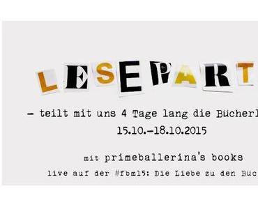 [Leserunden/Marathon] #Leseparty – die Alternative zur Frankfurter Buchmesse 2015!