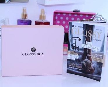 Glossybox Wohlfühl Edition Oktober 2015