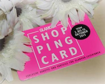 Glamour Shopping-Week Ausbeute - Herbst 2015