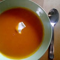 Herbstzeit ist Kürbiszeit - Kürbissuppe