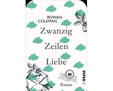 [Rezension] Zwanzig Zeilen Liebe von Rowan Coleman