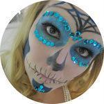 [DIY] Sugar Skull for Halloween {re-post}