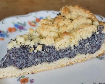 Der nächste Mohnkuchen: Mürbeteig mit Mohn-Pudding-Füllung und Streuseln