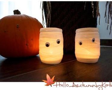 🍁 Hello Autumn – 🎃 DIY Mumiengläser und Cake Pop Augen 👻