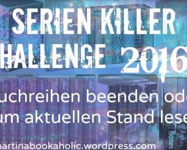 [Challenge] Serienkiller 2016: Buchreihen beenden