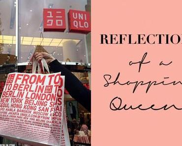 [organises...] Reflections of a Shopping Queen