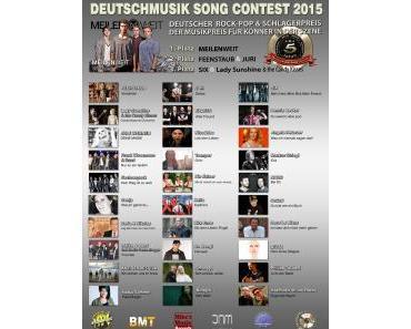Deutschmusik Song Contest 2015: Ein grenzüberschreitender Ausnahmetag für die deutschsprachige Musik