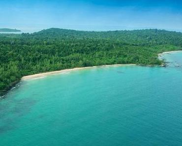 Schöne Inseln in Kambodscha