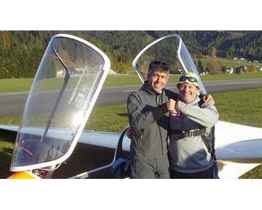 Ziellande-Wettbewerb des Segelflug-Sportklubs Mariazell