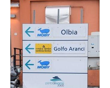 Mit Moby Lines von Livorno nach Olbia auf Sardinien