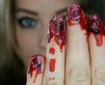 Halloween-Nails für Kurzentschlossene